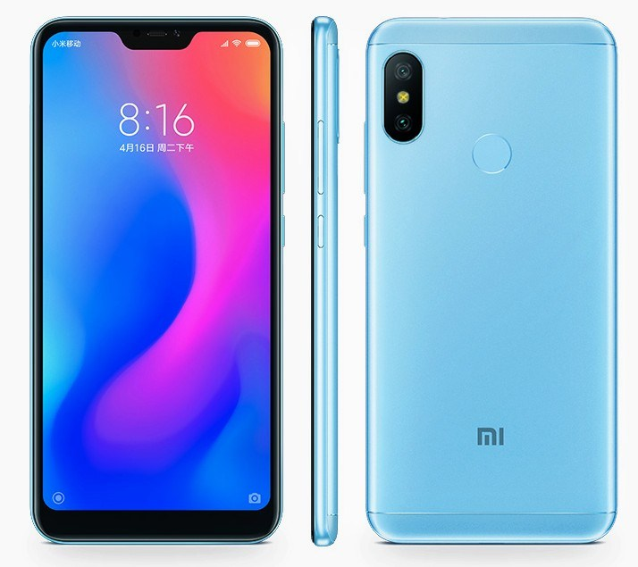 Redmi 6 Pro specifications