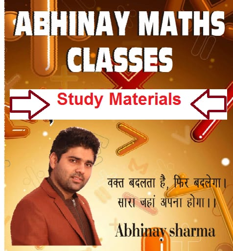 Abhinay Sharma Class Notes